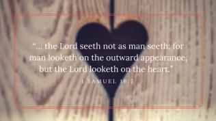 1 Samuel 16 7