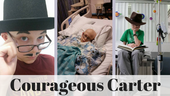 Courageous Carter Collage